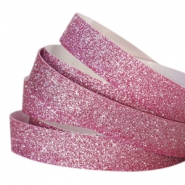 Tape 10 mm crystal glitter Fuchsia