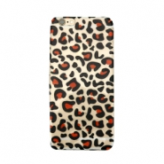 Telephonecase panther for Iphone 5 Transparent - black red