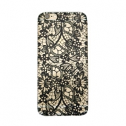 Telephonecase lace for Iphone 5 Transparent - black