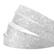 Crystal glitter tape 10mm Silver