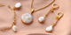 New collection of freshwater pearls charms