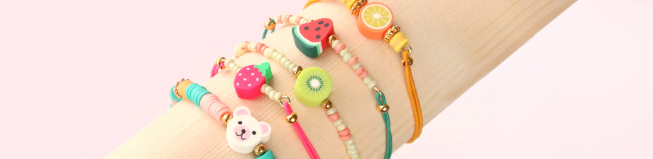 Fruity polymer beads for you!